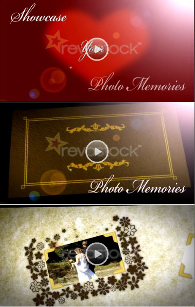 Revostock - 6 Page HD Photo Album After Effects CS4. Level 5