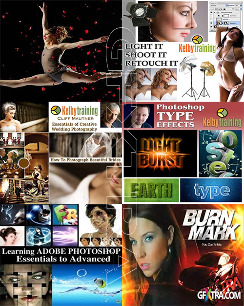Kelby Training - Photoshop and Photography Collection (122 DVD)