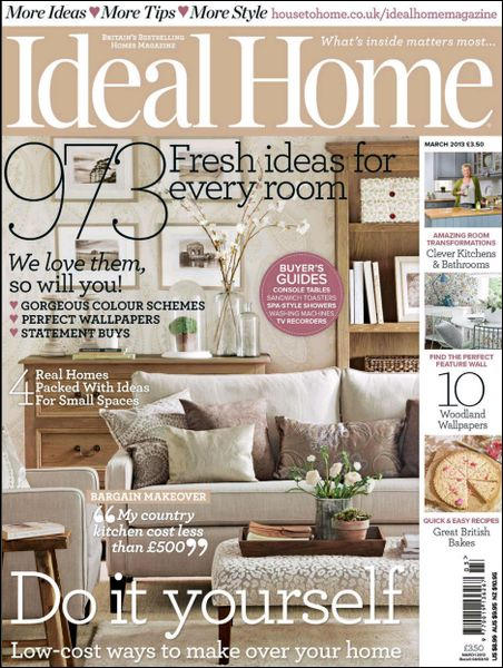 Ideal Home - March 2013 (HQ PDF)