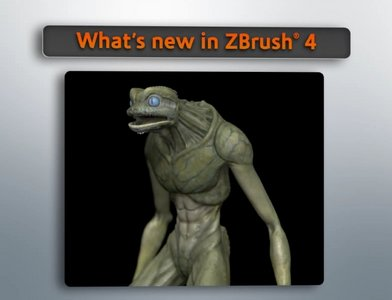Digital Tutors What is new in ZBrush 4 (1 dvd)