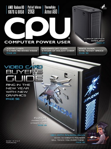 Computer Power User (CPU) - December 2010