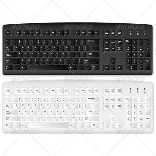 GraphicRiver - computer keyboard