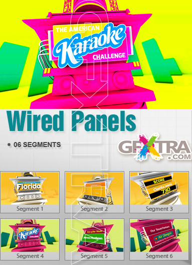 Wired Panels | After Effect Projects (2013)