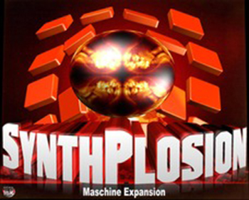 TheMaschineWarehouse SynthPlosion Maschine Expansion DVDR-KRock