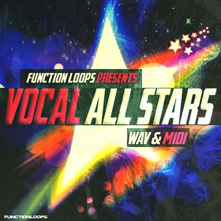 Function Loops Vocal All Stars WAV MiDi-DISCOVER