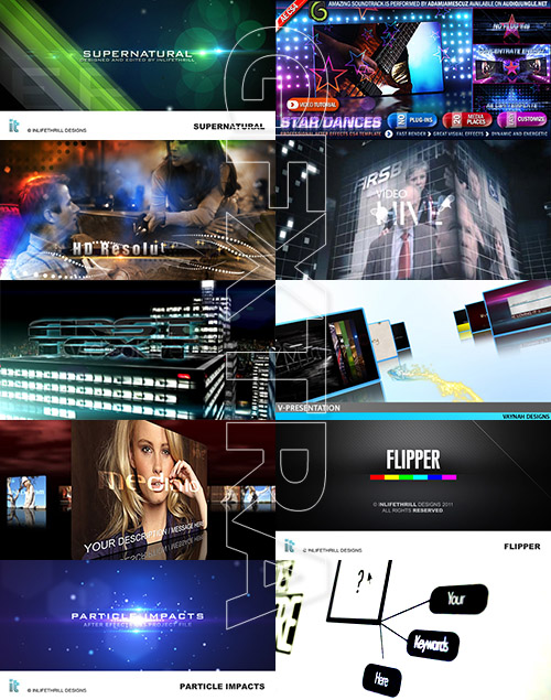 Videohive Projects - Promo and Presentation Pack