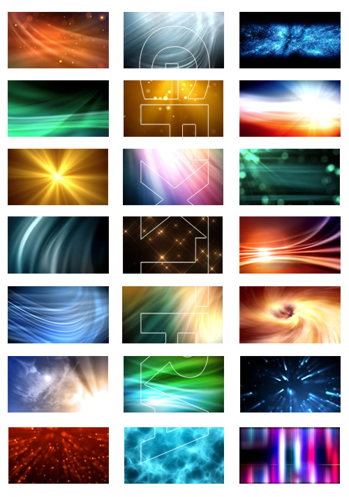 Motion Backgrounds - Light and Energy Pack 1