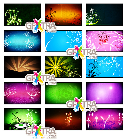 Motion Backgrounds - Flourishes Pack 1