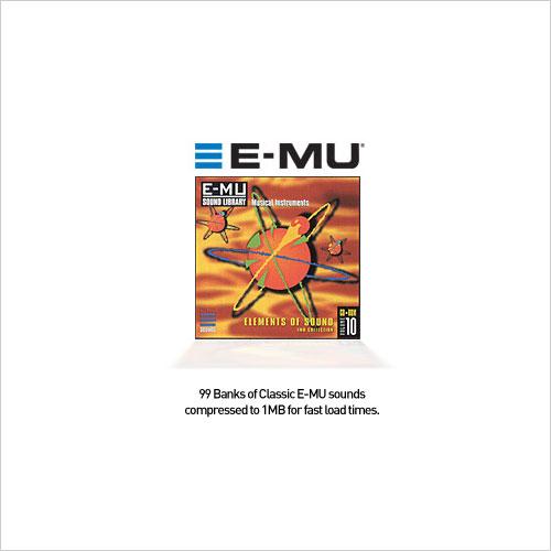 E-MU Classic Series Vol.10 Elements Of Sound 1MB EMU (1 cd)