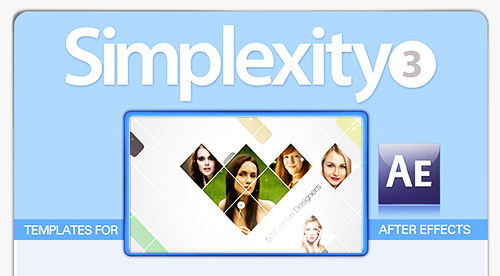 Digital Juice Simplexity Collection 3 for After Effects (Win-Mac)