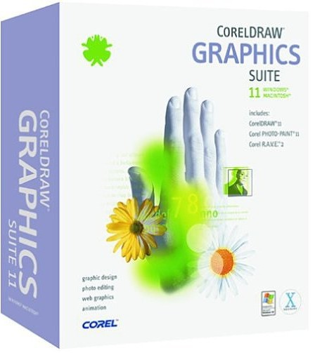 CorelDRAW Graphics Suite v11 (MAC OSX)