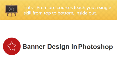 Tutsplus - Banner Design in Photoshop