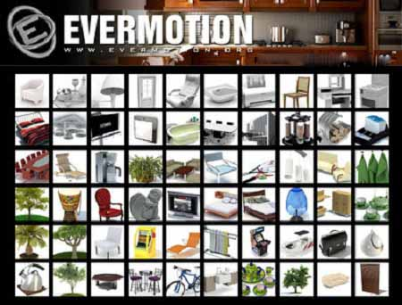 Evermotion ArchModels Collection (vol.1-vol.100)