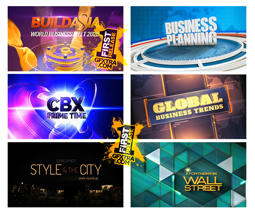 After Effects Projects Big Pack No 11