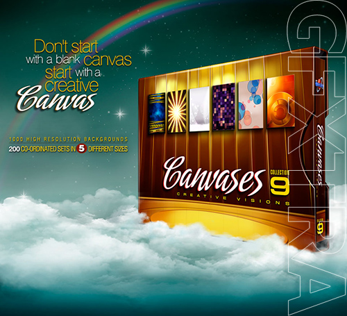 Digital Juice Canvases Collection 9: Creative Visions