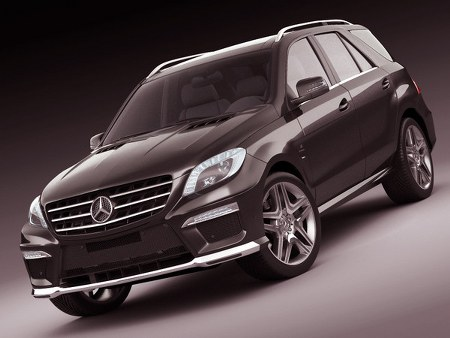 Turbosquid : Mercedes ML63 AMG