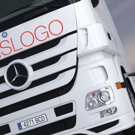 Turbosquid : New Mercedes Actros Spacecab