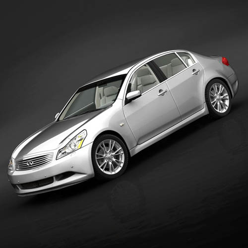 Turbosquid - Infiniti G37 Sedan 2009