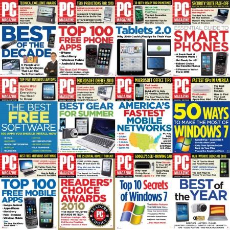 PC Magazine 2010 Full Collection