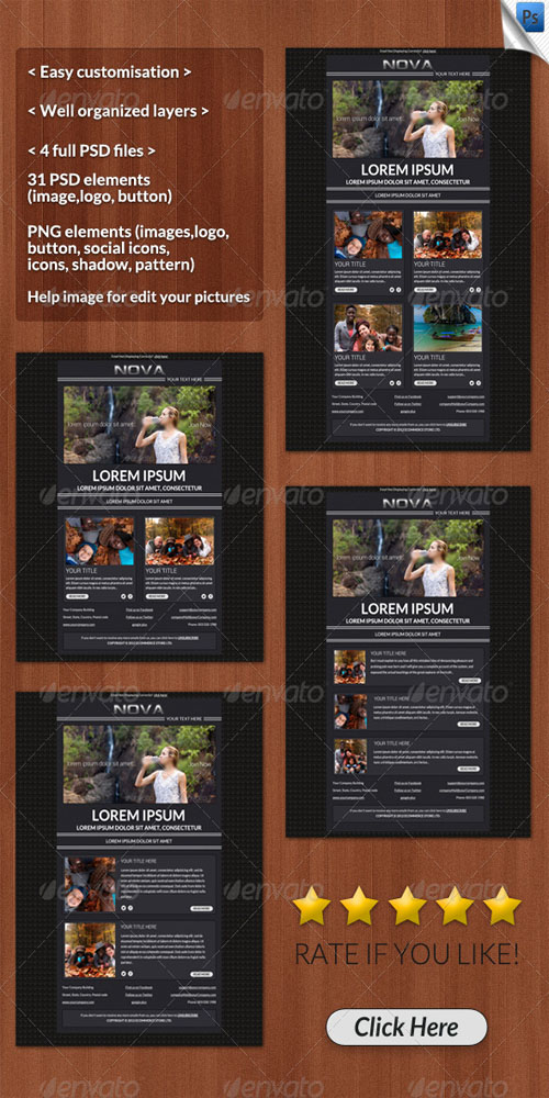 GraphicRiver - Nova Email Template