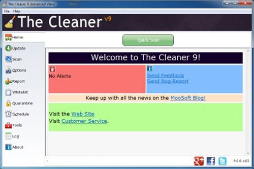 The Cleaner 9.0.0.1105 DC 21.05.2013 + Portable
