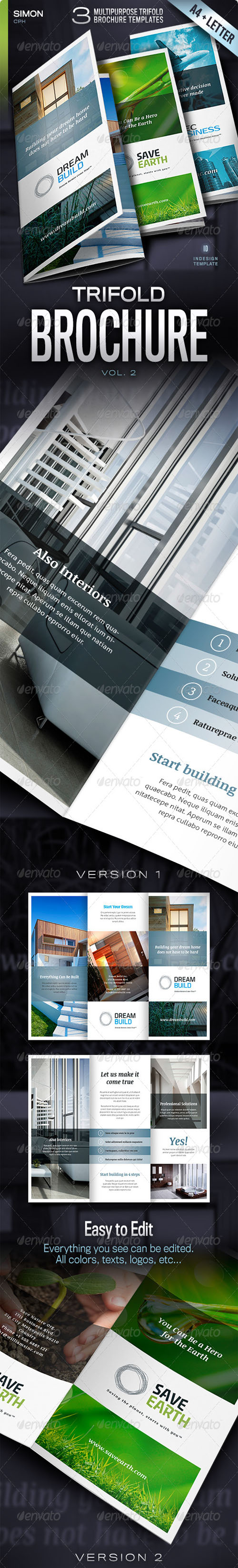 GraphicRiver - Trifold Brochure Vol. 2