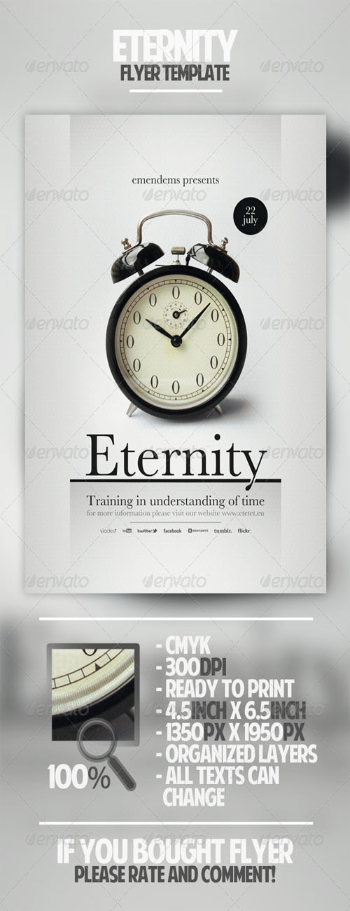 GraphicRiver - Eternity Flyer Template