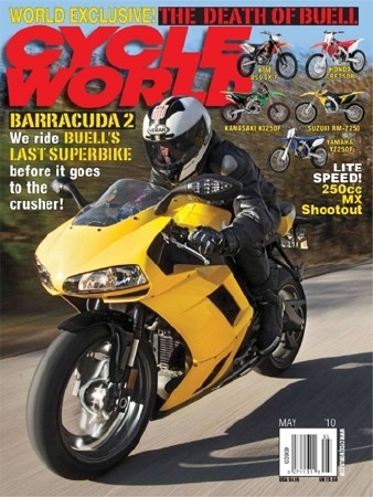 Cycle World - May 2010
