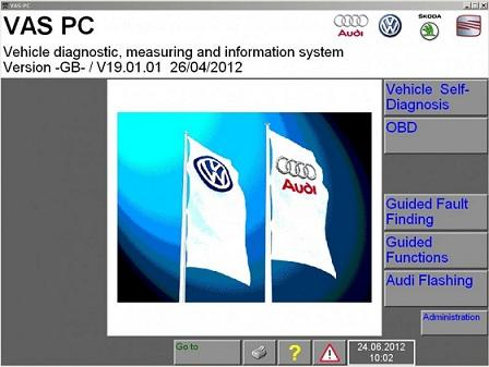 VAS PC v19.01.01 (Update 10.2013)