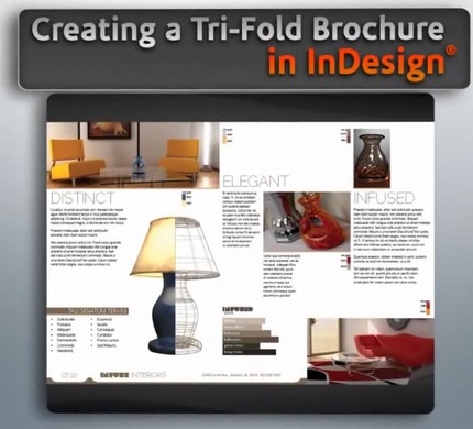 Digital tutors creating a tri fold brochure in indesign for Z fold brochure template indesign