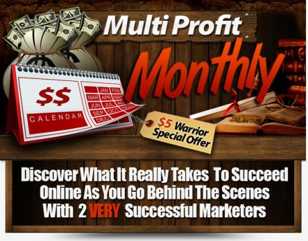 Multi Profit Monthly Tutorial by John Thornhill & Dave Nicholson