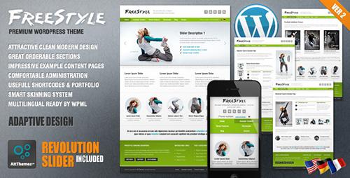 ThemeForest - Freestyle v1.3 - Responsive Wordpress Theme - FULL
