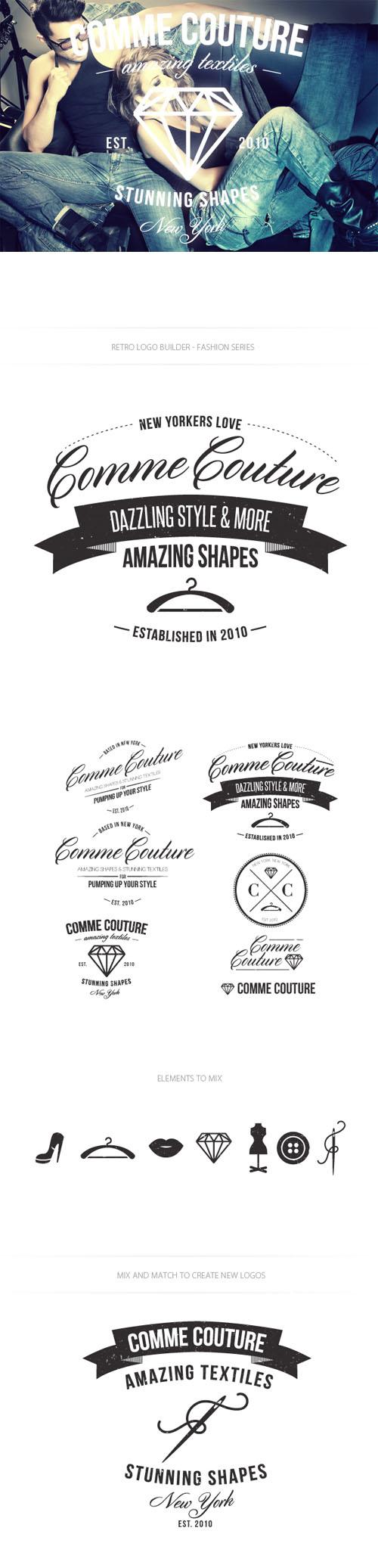 Fashion Logo Vector Templates
