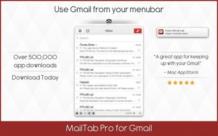 MailTab Pro for Gmail 6.1 (Mac OS X)