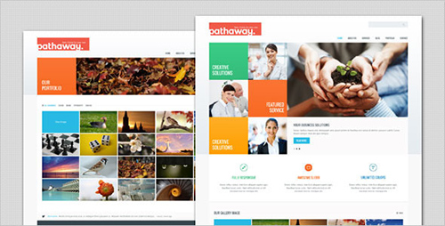 ThemeForest - Pathaway - Modern Business HTML Template - RIP