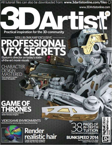 3D Artist - Issue 59, 2013 (True PDF)