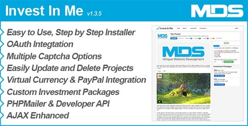 CodeCanyon - Invest In Me v1.3.5