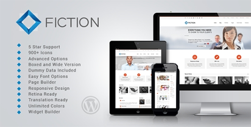 ThemeForest - Fiction v1.0.4 - Flexible and Responsive WordPress Theme