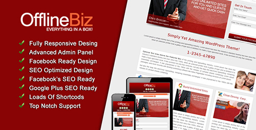 WPMania - OfflineBiz v1.0 - Premium WordPress Theme