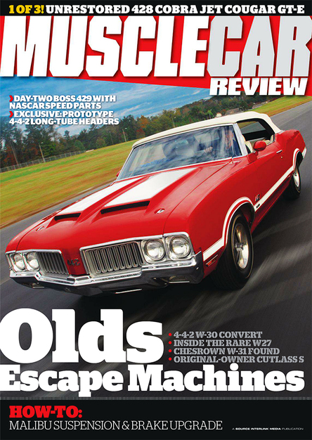 Muscle Car Review October 2013 (USA)