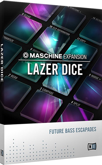Native Instruments Lazer Dice Expansion For MASCHINE-MAGNETRiXX