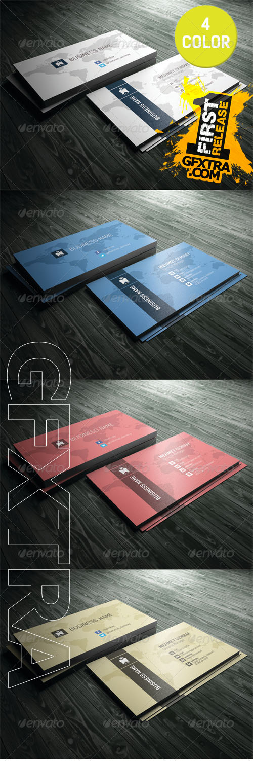 GraphicRiver - Business Card 5490300