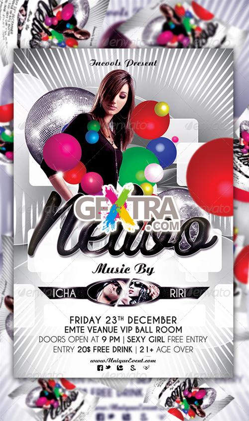 GraphicRiver - Nelwo Party Flyer Template