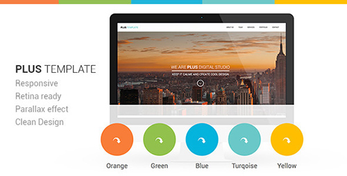 ThemeForest - Plus Responsive Retina Ready One-Page Template - RIP