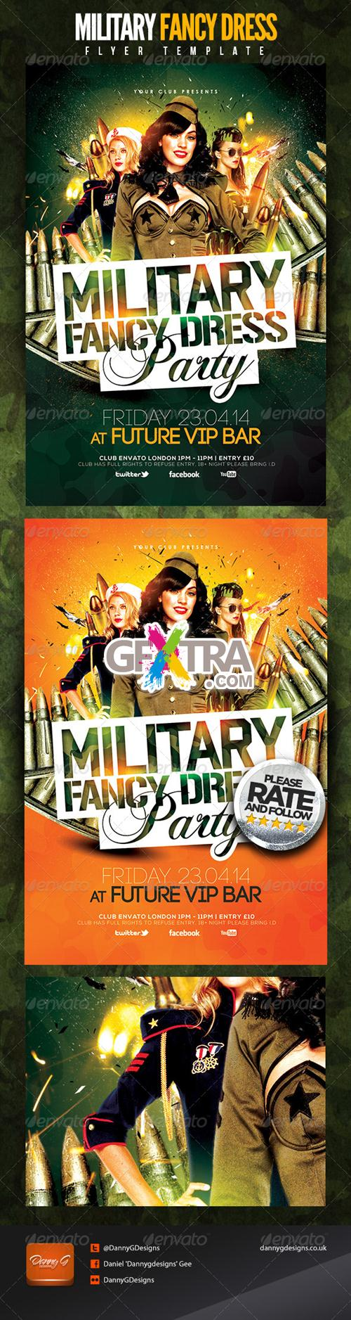 GraphicRiver - Military Fancy Dress Party