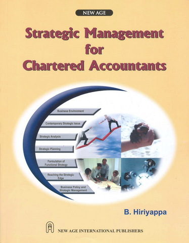 Strategic management for chartered accountants by b hiriyappa