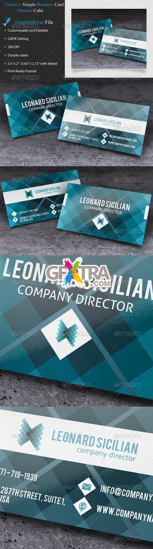 GraphicRiver - Creative Business Card - Mosaic