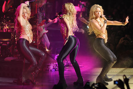shakira 2011 wallpaper. Shakira - performing live in
