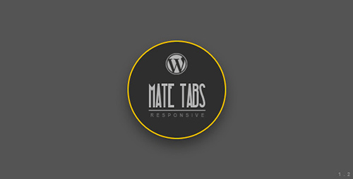 CodeCanyon - Mate Tabs v1.2 - Wordpress Plugin