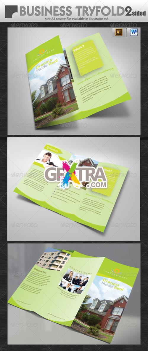 GraphicRiver - Real Estate Tri-Fold Brochure Design